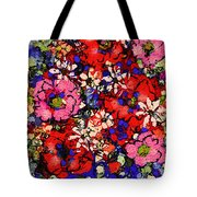 Joyful Flowers Tote Bag