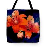 Joyful Lilies Tote Bag