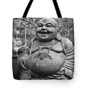 Joyful Lord Buddha Tote Bag