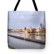 Joyful River Tote Bag