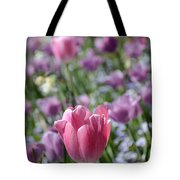 Joyful Tulip Tote Bag