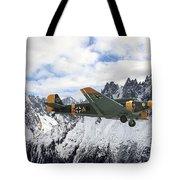 Ju52 - Alpine Passage Tote Bag