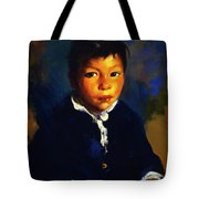 Juanita Also Known As Little Half Breed 1917 Tote Bag