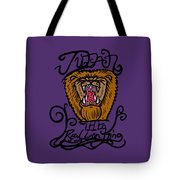 Judah The Real Lion King Tote Bag