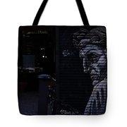 Judgemental Graffiti Tote Bag