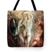 Judgment Of Paris Tote Bag