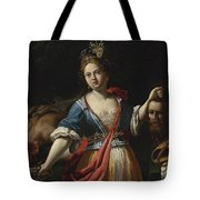 Judith With The Head Of Holofernes 2 Tote Bag