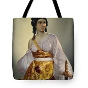Judith With Thedecapitated Head Of Holofernes  Tote Bag