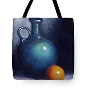 Jug And Orange. Tote Bag