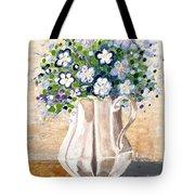 Jug Bouquet Tote Bag