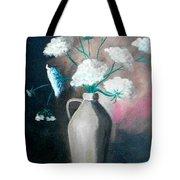 Jug Of Flowers Tote Bag