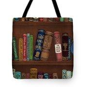 Jugglin' The Books Tote Bag