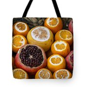 Juice Stand Fruits Tote Bag