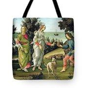 Juicio De Paris Tote Bag