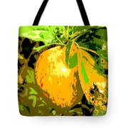 Juicy Apple On A Tree Tote Bag