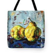 Juicy Quinces Tote Bag