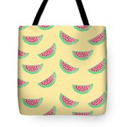 Juicy Watermelon Tote Bag