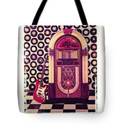 Juke Box Polaroid Transfer Tote Bag
