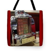 Jukebox Tote Bag