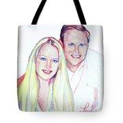 Jules And Tim Tote Bag
