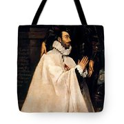 Julian Romero De Las Azanas And His Patron St Julian Tote Bag