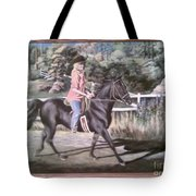 Julie And Shane Tote Bag