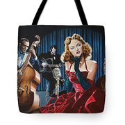 Julie London - Cry Me A River Tote Bag