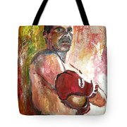 Julio Cesar Chavez Tote Bag