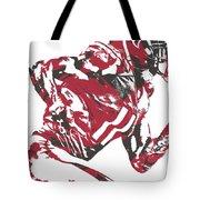 Julio Jones Atlanta Falcons Pixel Art 11 Tote Bag