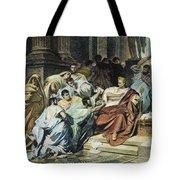 Julius Caesar (100-44 B.c.) Tote Bag