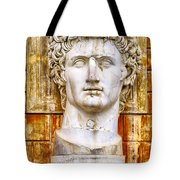 Julius Caesar At Vatican Museums 2 Tote Bag by Stefano Senise