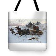 Julius Vesin Bulgarian The Sleigh Ride Tote Bag