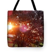 July 6 2017 Sunset 1 Of 3 Tote Bag