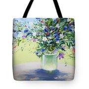 July Buquet Tote Bag