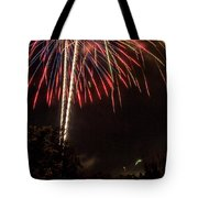July Fireworks Tote Bag by Tyson Kinnison