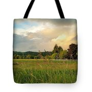 Sunset After Storm Tote Bag