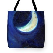 July Moon Tote Bag