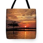 July Summer Sunset At Detroit Point Tote Bag