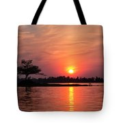 July Sunset At Detroit Point Tote Bag