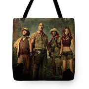 Jumanji Welcome To The Jungle 2.0 Tote Bag