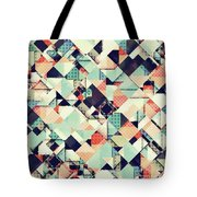 Jumble Of Colors And Texture Tote Bag