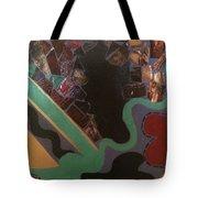 Jumbled Tote Bag