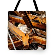 Jumbled Steel Tote Bag