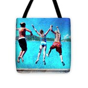 Jump In Tote Bag