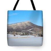Jump Mountain Tote Bag