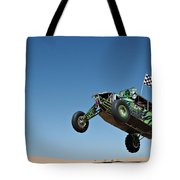 Jumping Hulk Tote Bag
