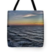 Jumping Off Place Tote Bag