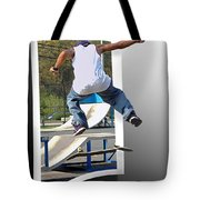 Jumping Out Of The Picture Tote Bag