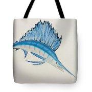 Jumping Swordfish  Tote Bag