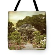 June Bloom Tote Bag